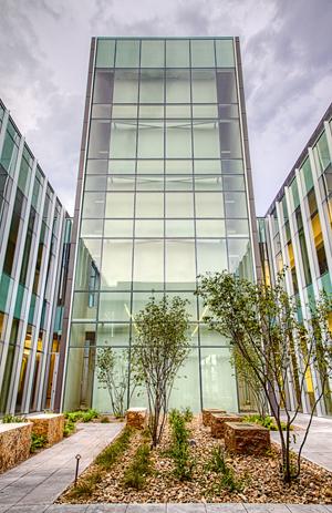 Tulsa Cancer Institute Healing Garden