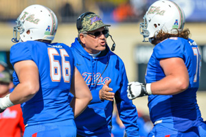 Coach Bill Blankenship, TU Athletics