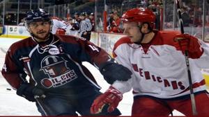 Oilers battle Allen