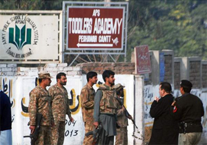 Pakistan Military respond to attack - Photo Sky News