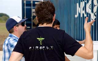 Firefly's Tom Markusic, doing space stuff- Photo Arstechnica.com
