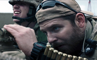 Bradly Cooper in American Sniper. Photo Provided