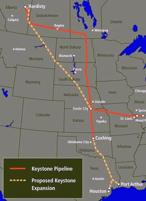 KeystonePipelineXLmap