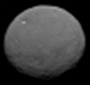 The first image from NASA's Dawn Spacecraft of the dwarf planet Ceres