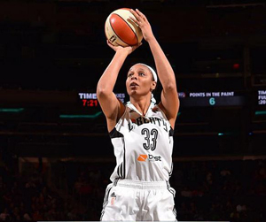 Plenette Pierson returns to Tulsa after four seasons with the New York Liberty.