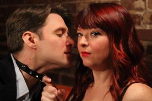 Theatre Pops Rick Harrelson (Thomas) & Heather Sams (Vanda)