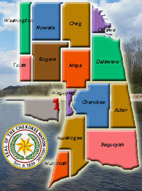 CherokeeNationMap