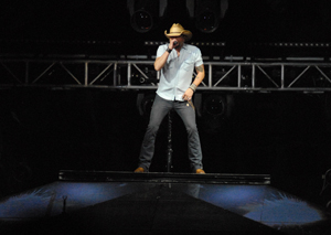 Jason Aldean takes the stage at the BOK Center Friday, April 10th