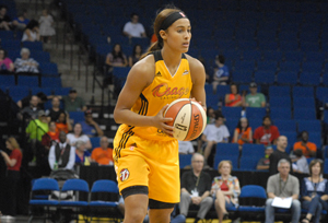 Skylar Diggins eclipsed the 1000 point mark on Tuesday night. Photo Greg Duke Tulsa Today