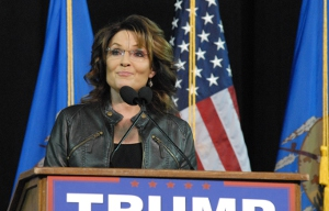 Sarah Palin in Tulsa. Photo by Greg Duke, Tulsa Today