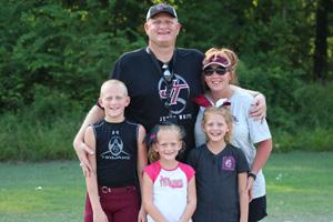 Chris Dodder and family