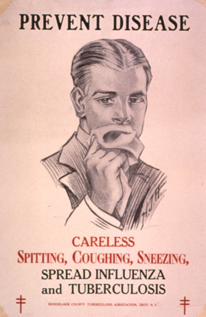 Historic New York health poster