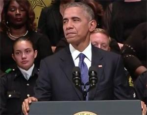 President Barack Obama speaking in Dallas (WH Photo)