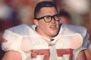Brandon Burlsworth, who many consider to be the greatest walk-on in college football history.