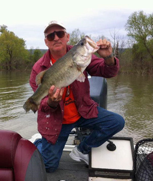 Terry Johnson recently caught this 9.62 pound bass at Sardis Lake.