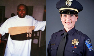 Terence Crutcher and Betty Jo Shelby (Photo: Facebook)