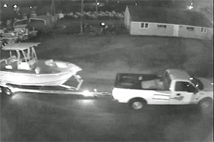 Thieves like boats that can be easily moved without drawing any attention (credit: Norfolk Police Dept.)
