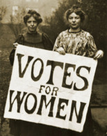 Celebrating women's right to vote